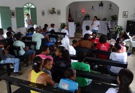 A escola de Missão em Jacobina