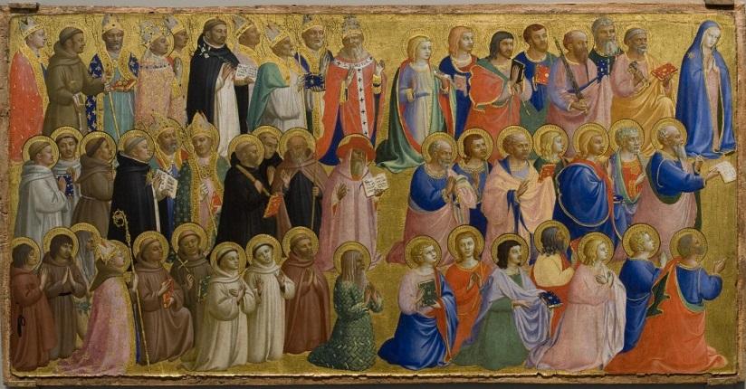 Igreja celebra Solenidade de Todos os Santos