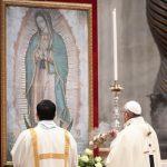 """""""Com a Virgem de Guadalupe, não somos nem nunca seremos órfãos"""""""