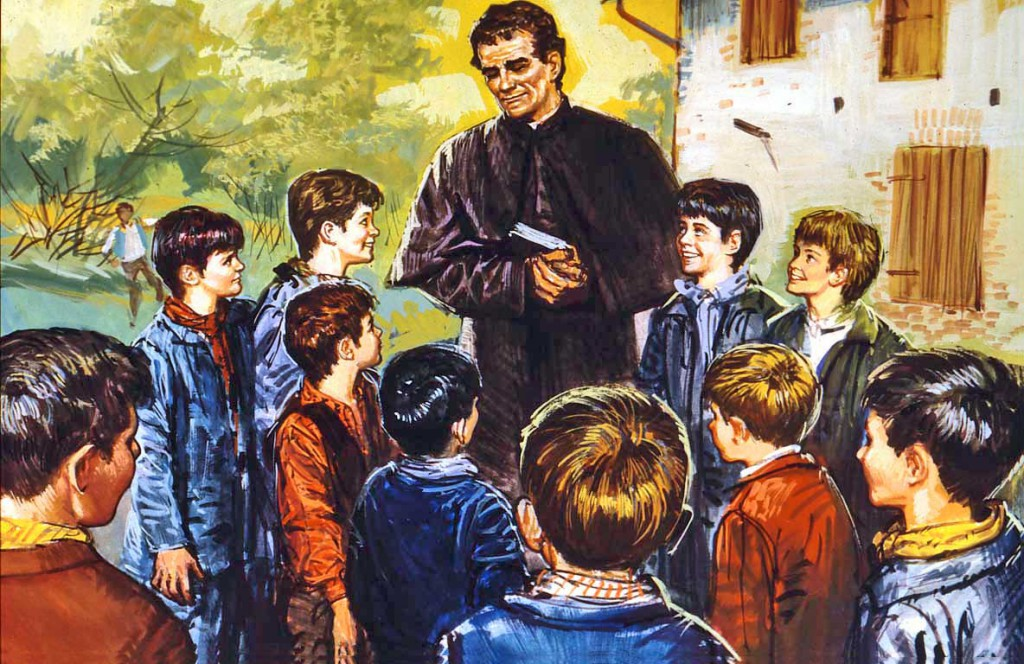 No Dia de Dom Bosco, jovens recebem mensagem de encorajamento