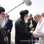 Papa Francisco chega ao Egito