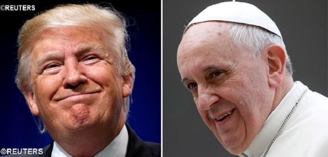 Papa receberá em audiência o presidente Donald Trump