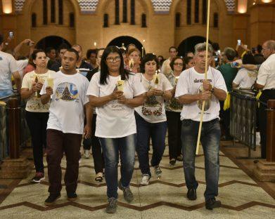 O Santuário de Aparecida (SP) recebe, neste domingo, leigos e leigas de todo o país para Romaria em culminância ao Ano do Laicato