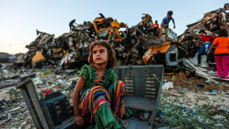 Santa Sé: mais apoio aos refugiados palestinos. Aprovação a dois Estados