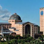 Fachadas da Basílica de Aparecida serão revestidas com passagens bíblicas