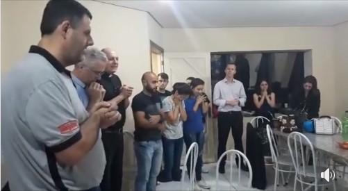 Visita do Moderador Michel-Bernard e do Padre Henri-Marie - Porto Alegre