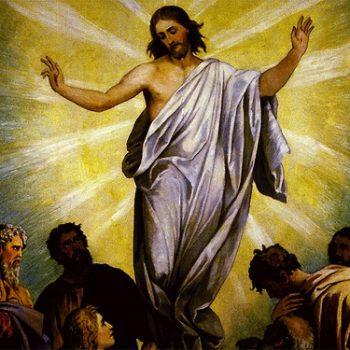 """Festa da Ascensão do Senhor -  """"Homens da Galileia, porque estais a olhar para o céu? Como vistes Jesus subir ao céu, assim há-de vir na sua glória. Aleluia."""""""