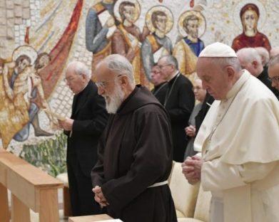 A partir de 4 de dezembro pregações do Advento com o novo cardeal Cantalamessa